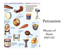 Percussion - Main Page | Astrophysics Group