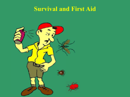 Chapter 6 Survival and First Aid