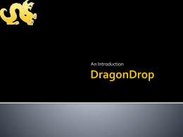 DragonDrop - Home | Drexel University