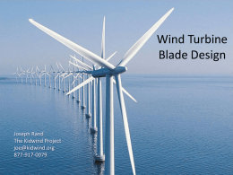 File wind turbine blade design