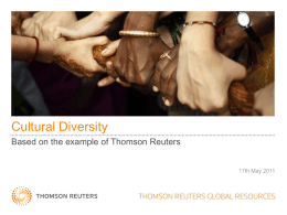 Thomson Reuters Global Resources