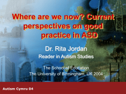 Where are we now? Current perspectives on good practice in …