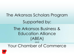 Arkansas Scholars