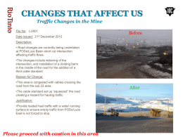 CHANGES THAT AFFECT US - Iron Ore Company of Canada