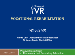 Vocational Rehabilitation - Childrens Cancer | National