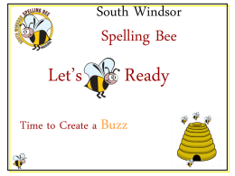 South Windsor Spelling Bee