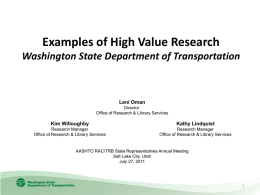 WSDOT HVR submission--Wednesday July 27 session