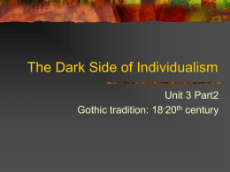 The Dark Side of Individualism