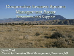Invasive Species Organizations: Putting Your Work in Context