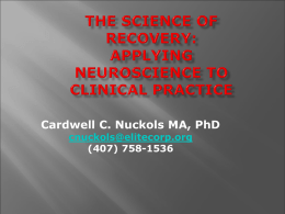 The Science of Recovery - AAP