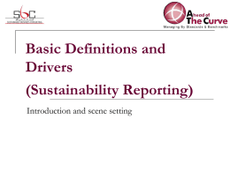 Definitions and Drivers of CSR
