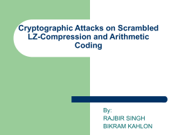 Cryptographic Attacks on Scrambled Input LZ