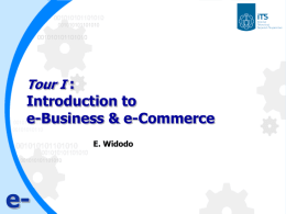 eCommerce – Workshop #1