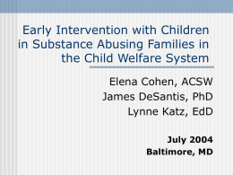 Building Synchronicity Between Early Childhood and Child