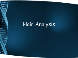 Hair Analysis
