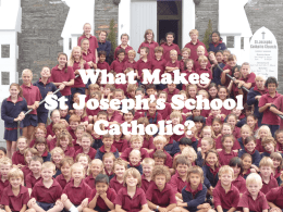 Catholic Special Character - St Joseph's School, Queenstown NZ