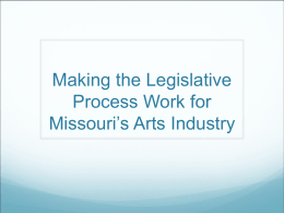 Making the Legislative Process Work for Local 655