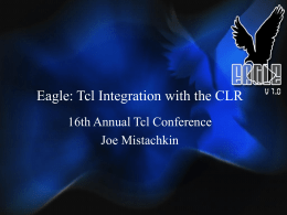 Eagle: Tcl Integration with the CLR