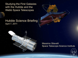 Frontiers of Astrophysics - Space Telescope Science Institute