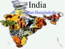 India Pakistan/Bangladesh