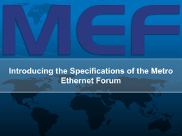 MEF Market Development