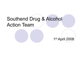 Southend Drug & Alcohol Action Team