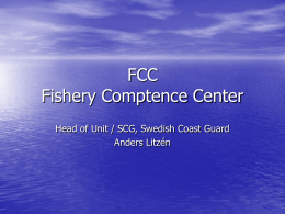 FCC Fishery Comptence Center