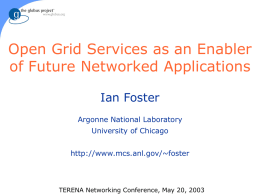 Grid, Globus Toolkit, and OGSA