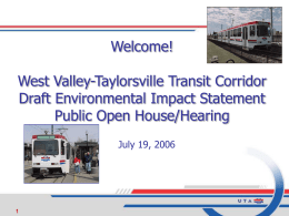 Headline goes here - Utah Transit Authority