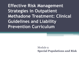 Effective Risk Management Strategies in Outpatient