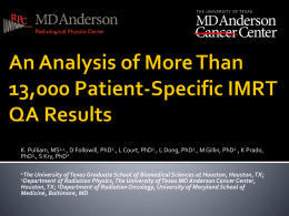 An Analysis of More Than 13,000 Patient