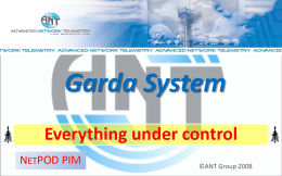 Garda System Overview