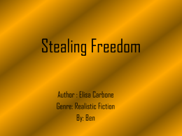 Stealing Freedom - Welcome to EZ Website