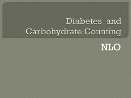 Carbohydrates Non-Licenced