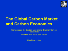 State and Trends of the Carbon Market 2003