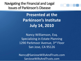 The Nuts and Bolts of Estate Planning
