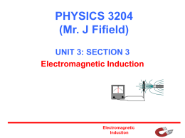 PHYSICS 2204 (Mr. J Fifield)