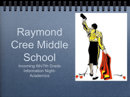Raymond Cree Middle School