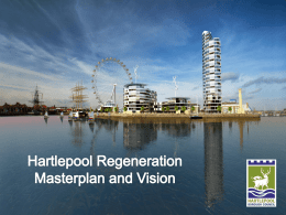 Hartlepool Regeneration Masterplan