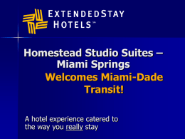 You Can't Talk About Extended Stay Hotels Without Saying
