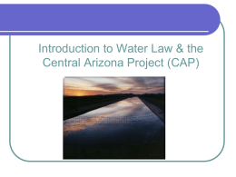 How Should Arizona Meet Its Future Water Needs, with or