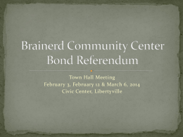Brainerd Rehabilitation Referendum