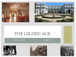 The Gilded Age - St. John's High School