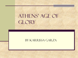 Athens' Age of Glory - Newton Middle School