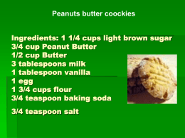 INGREDIENTS 2 cups all-purpose flour 1/2 cup white sugar 3