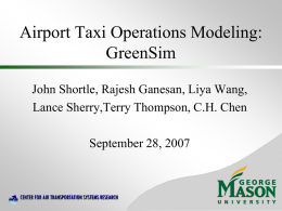 Analytical Methods in Airport Queueing Modeling
