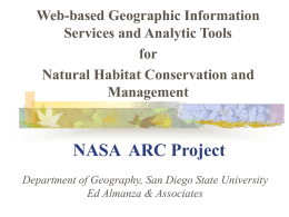 NASA ARC Project - San Diego State University