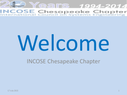 Welcome [www.incose