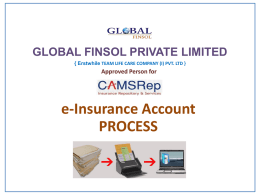 e IA Process - Global FinSol