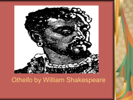 OTHELLO - Ms. Proch